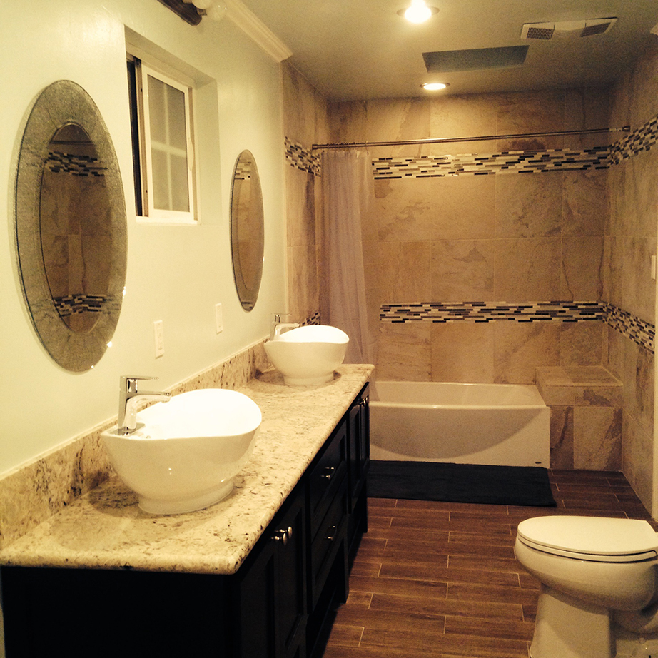 Painting Contractors Long Island NY interior bathroom