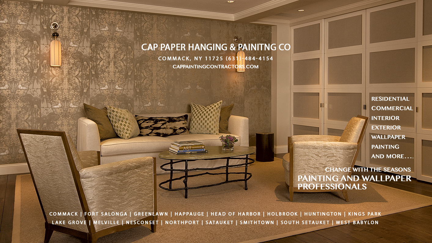 Welcome to Cap Paper Hanging & Painting Co. of Long Island New Y