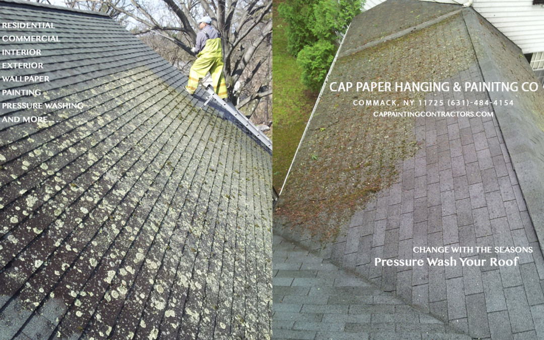 Pressure Wash Your Roof