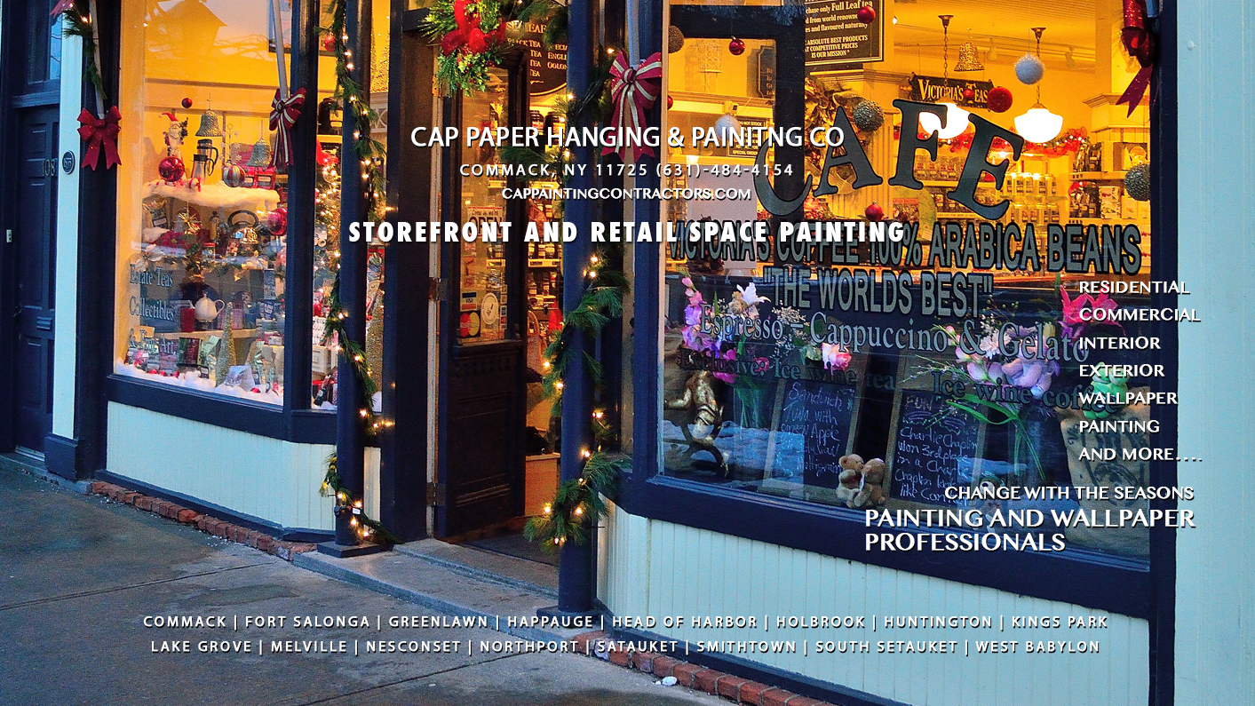 Storefront and Retail Painting Services